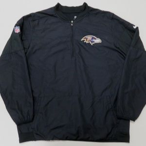 Nike Baltimore Ravens NFL Men Storm Fit 1/4 Zip
